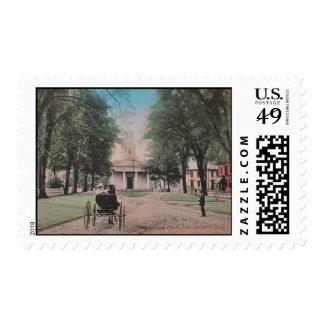 Collinsville Church Postage Stamp