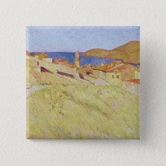 Collioure Landscape Pinback Button