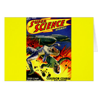 Collision Course! Stationery Note Card