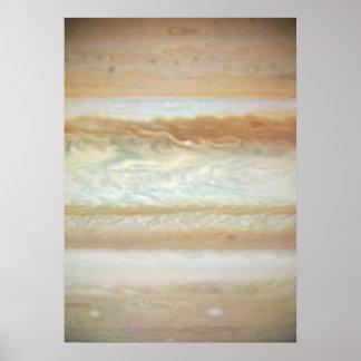 Collision Leaves Giant Jupiter Bruised Print