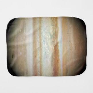 Collision Leaves Giant Jupiter Bruised Baby Burp Cloth
