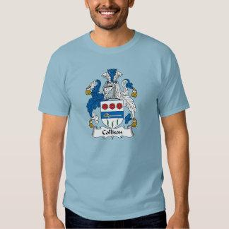 Collison Family Crest T Shirt