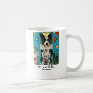 'colly wobbles' coffee mug