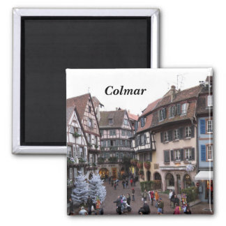 Colmar - 2 inch square magnet