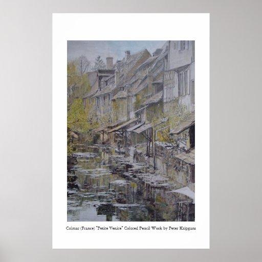 Colmar (France) - Petite Venice Poster