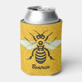 Colmena conocida personalizada panal de la abeja enfriador de latas