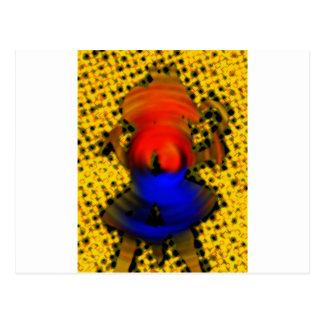 Colmena de la abeja tarjetas postales