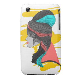 Colmena del Hippie iPhone 3 Case-Mate Protector