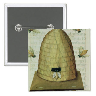 Colmena y abejas pins