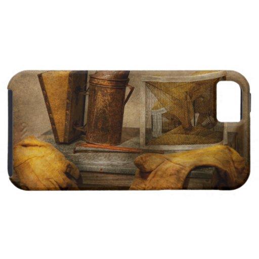 Colmenar - el apicultor iPhone 5 cárcasas