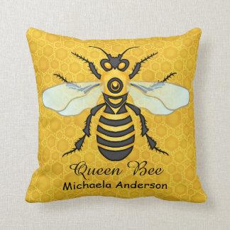 Colmenar grande de la abeja del panal de la abeja cojín