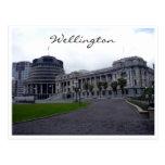 colmenas del parlamento de Wellington Tarjeta Postal