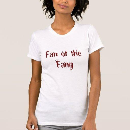 Colmillo del colmillo camisetas