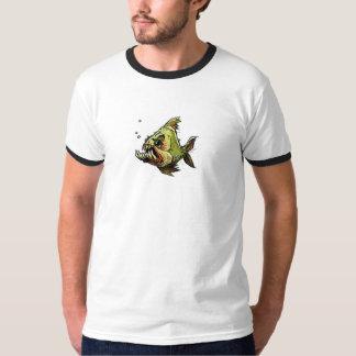 colmillos de los pescados playera