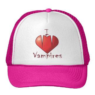 Colmillos del corazón: Amo a vampiros Gorros