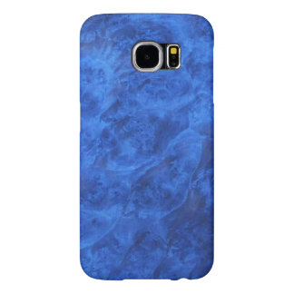 Colmillos ocultados en caja azul de la galaxia S6 Fundas Samsung Galaxy S6