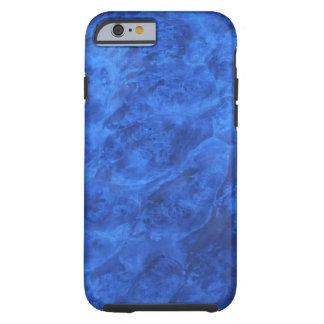 Colmillos ocultados en caja azul del iPhone 6 de Funda De iPhone 6 Tough