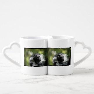 Colobus Monkey Couples' Coffee Mug Set
