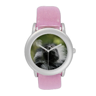 Colobus Monkey Wrist Watches