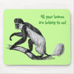 Colobus Mouse Pad