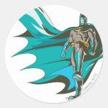 Colocación de Batman Pegatina Redonda