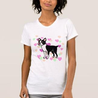 Colocación de Boston Terrier Camiseta