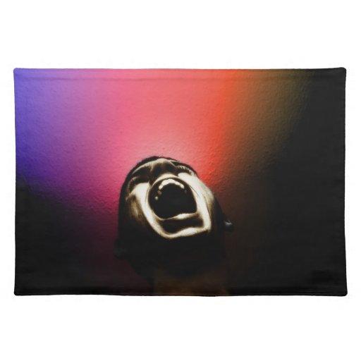Colocación de griterío mantel individual