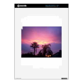 Coloful Florida Sunset Decal For iPad 2