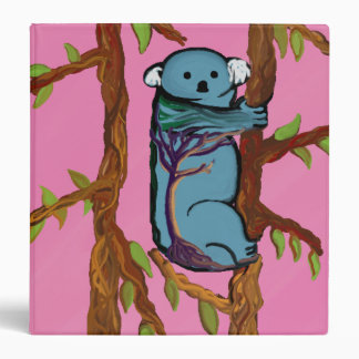 Coloful Koala on Binder