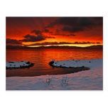 lake tahoe, sunrise, snow, lake, water, tahoe