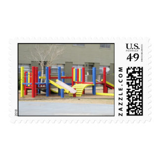 Coloful Park Postage