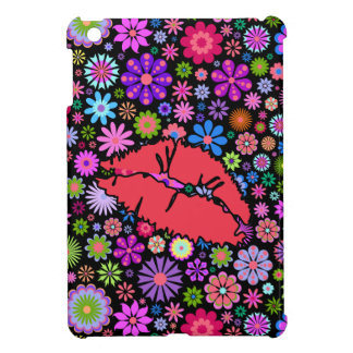 Coloful Spring Kiss Flowers Garden iPad Mini Case