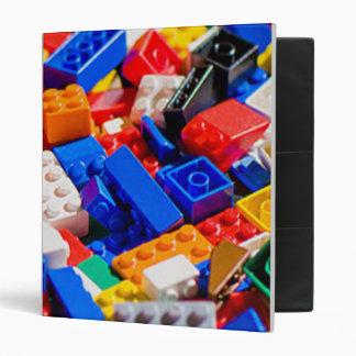 Coloful Toy Brick Pile Binder