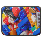 Coloful Toy Brick Pile MacBook Pro Sleeves