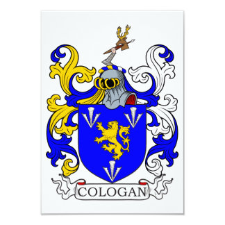 Cologan Coat of Arms Announcements