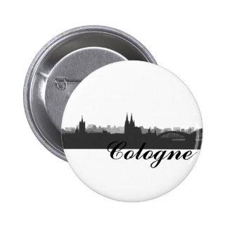 Cologne button/Anstecker/pin Button
