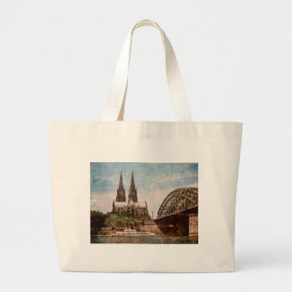 Cologne cathedral canvas bag