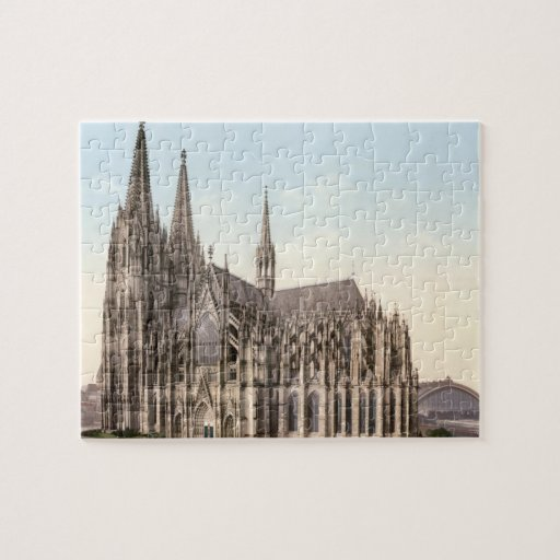Cologne Cathedral Jigsaw Puzzle