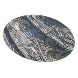 Cologne Cathedral Melamine Plate