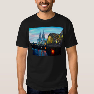 Cologne Cathedral with Hohenzollernbridge Tee Shirt