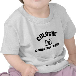 cologne drinking team tee shirts