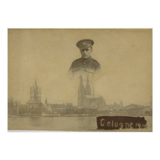Cologne, French occupation 1919 Poster
