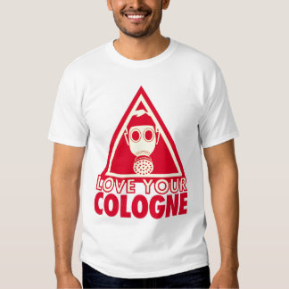 Cologne Gasmask T Shirt