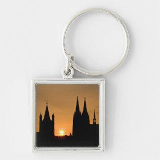Cologne, Germany sunrise Keychain