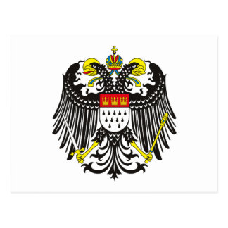 Cologne (Koln) Coat of Arms Postcard