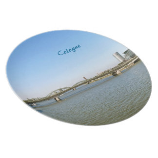 Cologne Melamine Plate