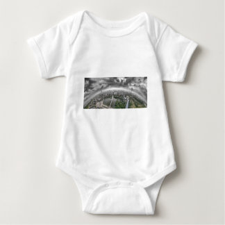 Cologne Panorama - 360 degrees! Baby Bodysuit