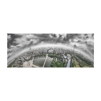Cologne Panorama - 360 degrees! Canvas Print