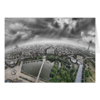 Cologne Panorama - 360 degrees! Card