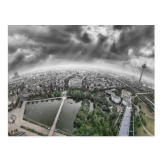 Cologne Panorama - 360 degrees! Postcard